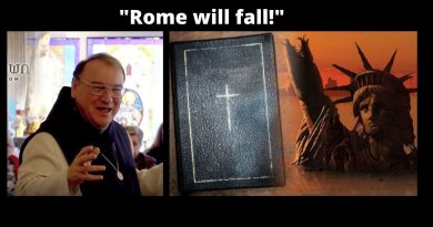 "In special message, Jesus tells Fr. Rodrique Satan's plan…""Rome will fall!"""