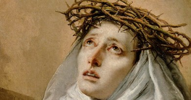 Saint Catherine of Siena and the miracle against the plague …