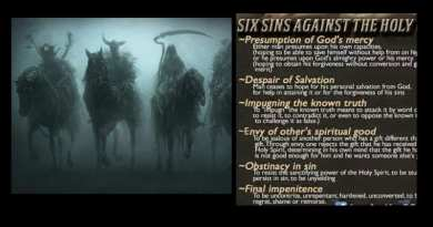 "The Six Sins Against the Holy Spirit. ""Those of pure malice"""