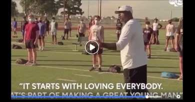 "#BREAKING Coach out of Klein, TX: ""We're not going to be divided, we're not going to let society tell us who to hate…It starts with loving everybody..That's what's part of making a great young man!"" Powerful video going viral"