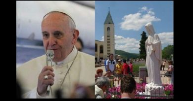 "Pope Francis says ""Go to Medjugorje; spread the good news!""… Young Catholics Embrace … Pope understands importance of Medjugorje"