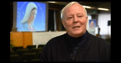 "Father Livio's words will shake you: Medjugorje is the greatest event in two thousand years of Christianity and for first time in human history is at risk of self-destruction…Our Lady Reveals: "" Man is building a world without God."""