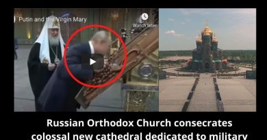 Prophecy and Signs: Did Icon of Virgin Mary Bring Russian Leader Vladimir Putin to Tears? – Russian Orthodox Church consecrates huge cathedral dedicated to military.