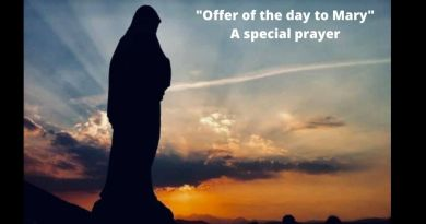 "Mary's Pearl September 22, 2020 – ""Offer of the day to Mary"" A special prayer – Eternal life awaits you"