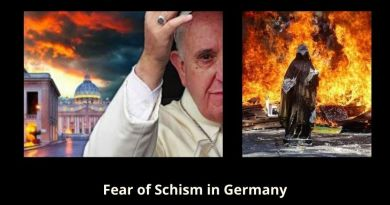 "Pope Fears Schism In Germany Catholic Church -""dramatic concern"""
