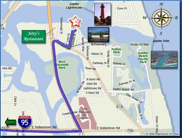 Turnpike Florida Map.Jupiter Map Turnpike Florida