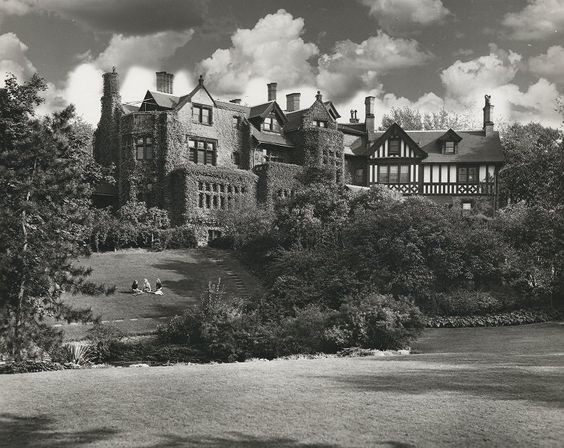 Chatham College as it was about 1940