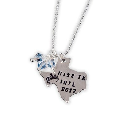 Sterling Custom Pageant Titleholder Necklace