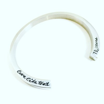 Personalized Memorial Cremation Bracelet