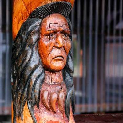 Native American Carving