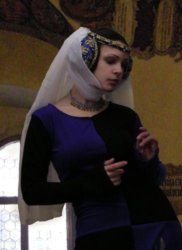 coiffe médiévale