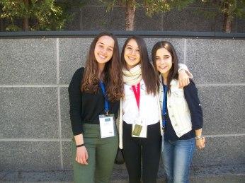 Yo, Annia y Cris