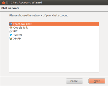 chat account wizard