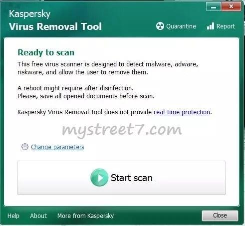 kaspersky virus removal tool 1