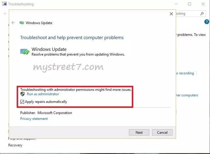 probleme windows update 4