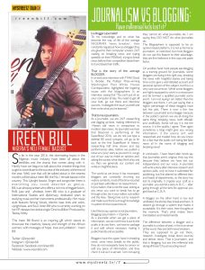 Mystreetz magazine pages