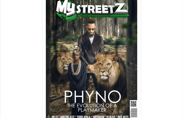 PHYNO COVERS MYSTREETZ MAGAZINE
