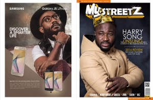 mystreetz magazine cover and back page