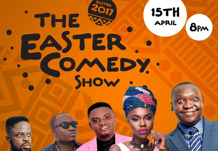 THE BIGGEST EASTER COMEDY SHOW IN GHANA