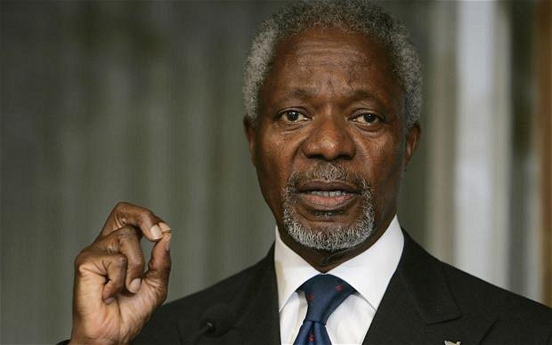 Kofi Annan, former UN Secretary-General, dead at age 80