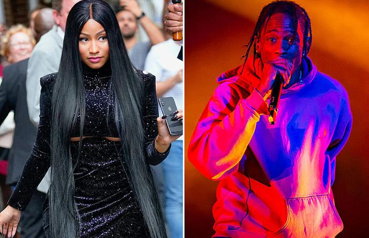 "Nicki Minaj calls Travis Scott ""Hoe Nigga Of The Week"" On Queen Radio"