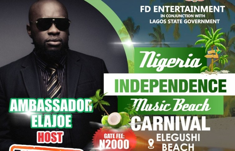AMBASSADOR ELAJOE TO ANCHOR NIGERIA INDEPENDENCE MUSIC BEACH CARNIVAL, MARK COMPANY'S 21ST ANNIVERSARY