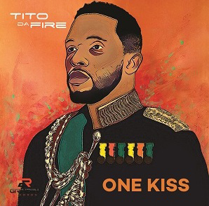 "Tito Da.Fire Unveils album art for ""One Kiss"" slated for release in October"
