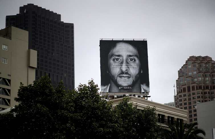 Nike Online Sales Is Up 31 Percent After Kaepernick Campaign