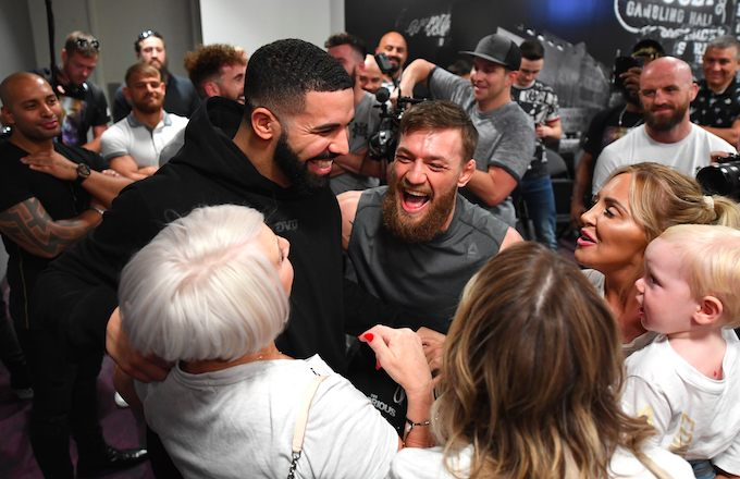 Drake Came Through for Conor McGregor at UFC 229 Weigh-In