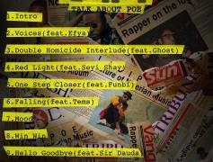 Ladipoe unveils Tracklist for His album 'T.A.P: Talk About Poe'