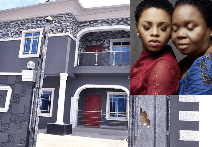 Chidinma builds Mum a House For Her 60th Birthday