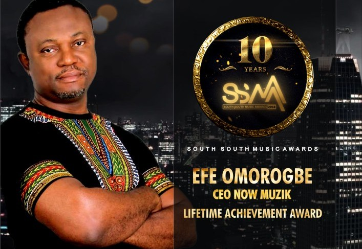 South –South Music Awards To Honor Efe Omorogbe With Lifetime Achievement Award