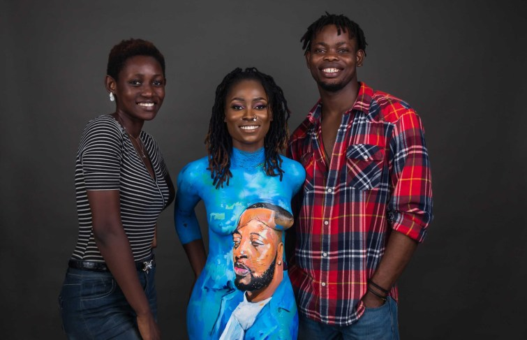 HK Locks and Briana – Body Art For Tunde Ednut Speaks Volumes