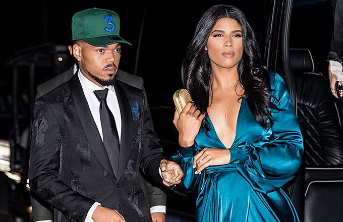 Chance The Rapper & Wife Kirsten Corley Are Expecting A Girl Child