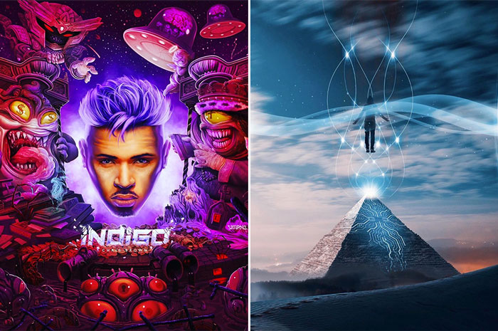 Chris Brown Unveils 'Indigo' Album Cover Art