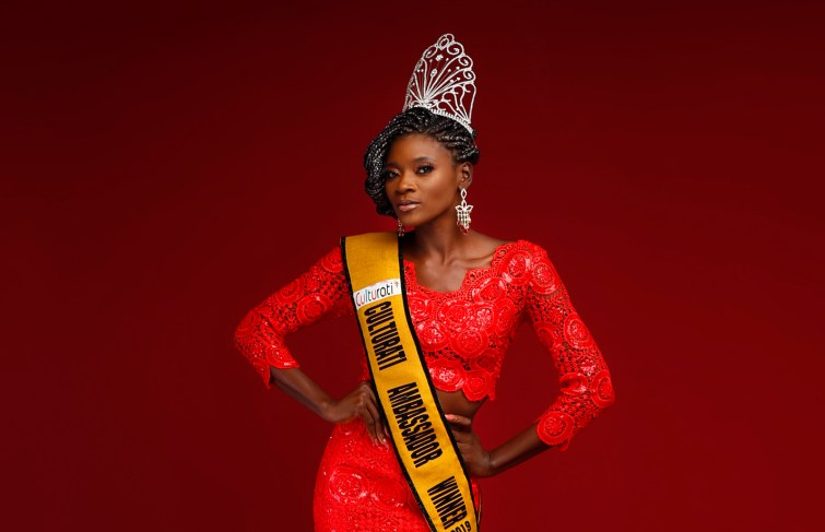 Abisola Salawu Is The Red Hot Crowned 'Culturati Ambassador' Winner