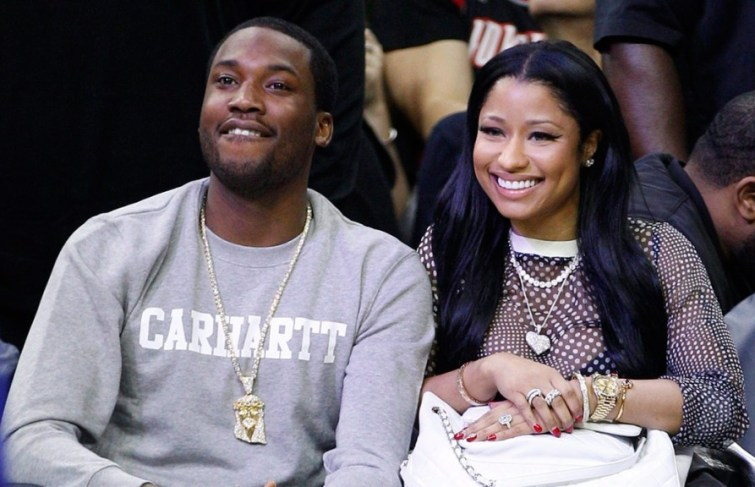 Meek Mill Says He's Not Down With Minaj's Husband Being Arrested