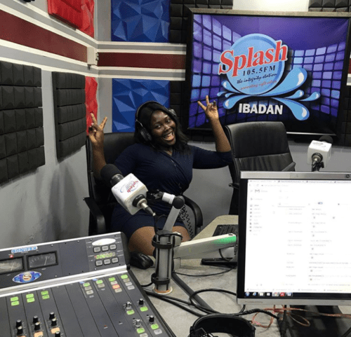 Toyosi Olosunde Of Splash 105.5FM – An Aladdin's cave Of Talent