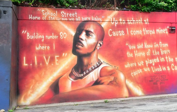 DMX Mural Unveiled at Yonkers, New York