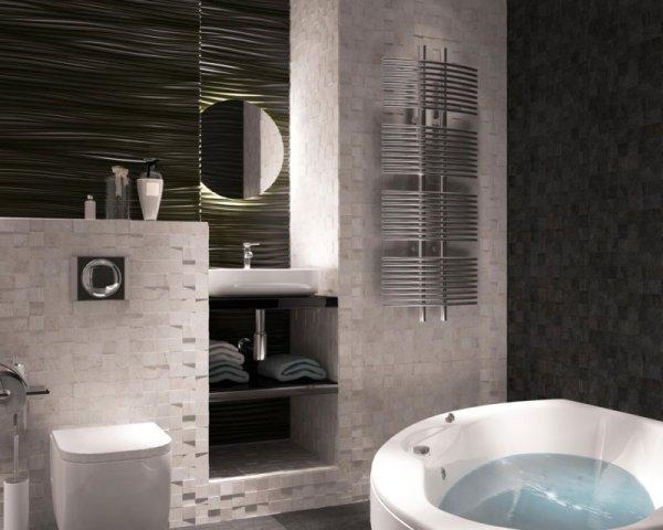 Черная плитка в ванной 70 фото новинок оформления дизайна