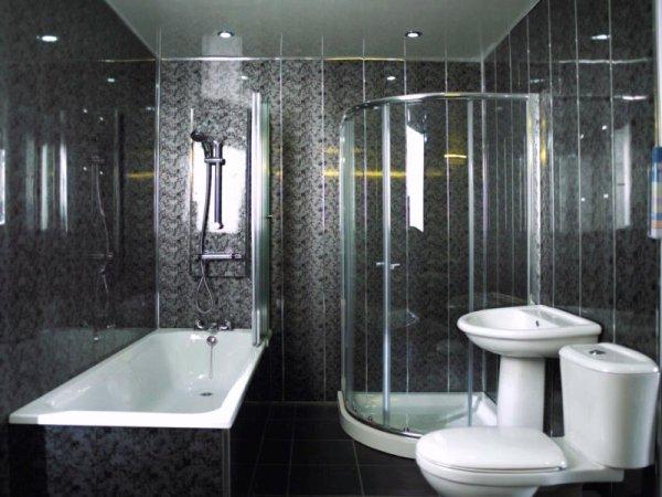 Пластиковые панели для ванной - 55 фото идей пластиковых ...