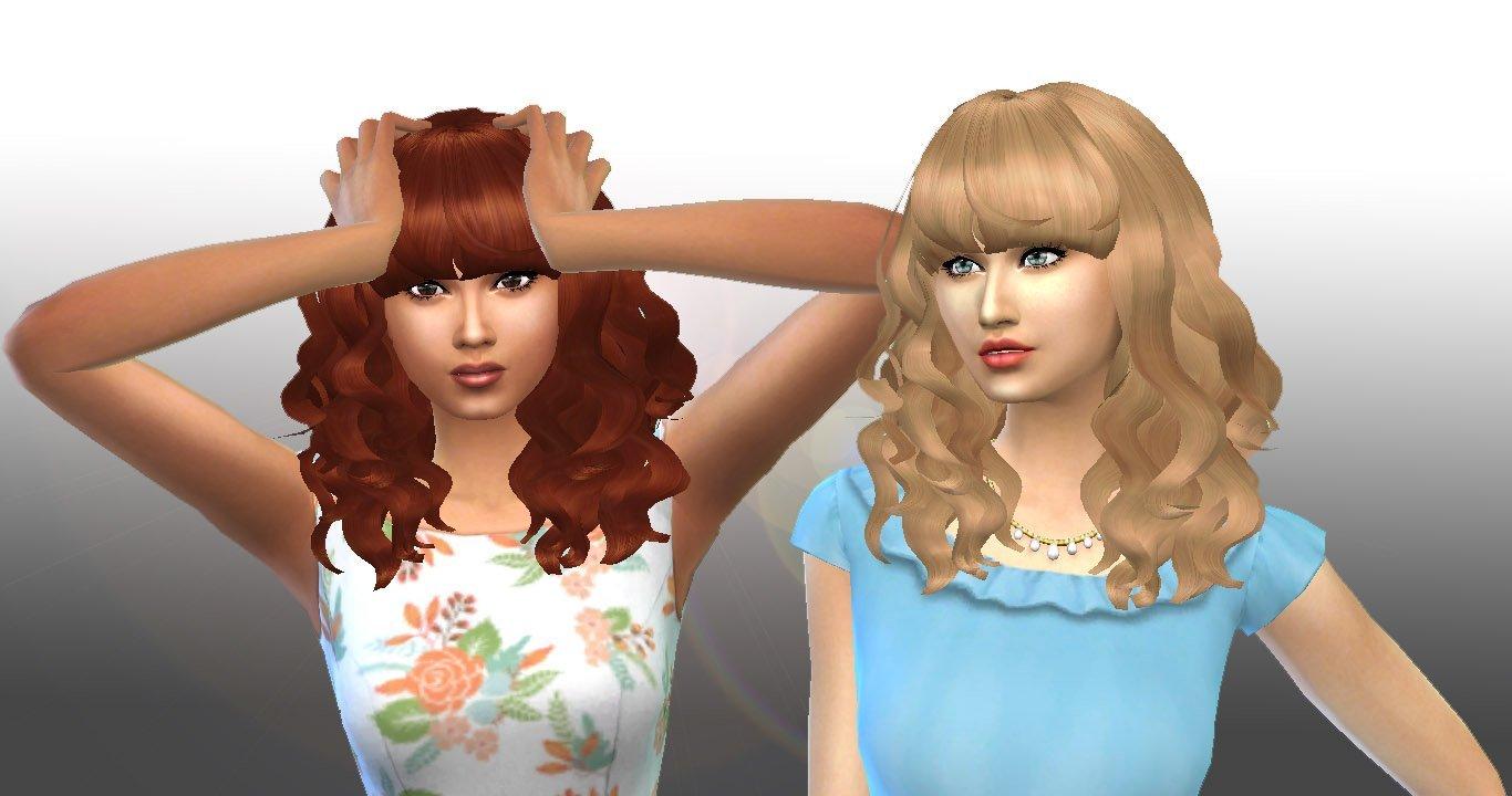 Peggy#885 Hair Conversion