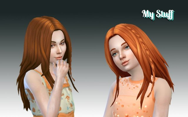 Germania Hairstyle for Girls