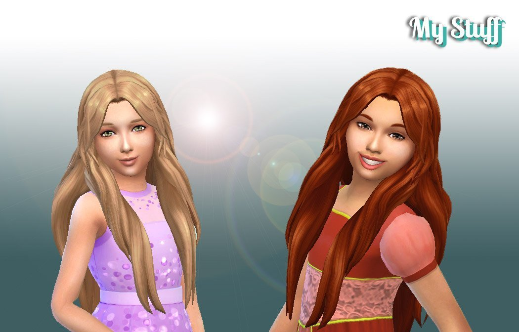 Enchanted Hairstyle for Girls