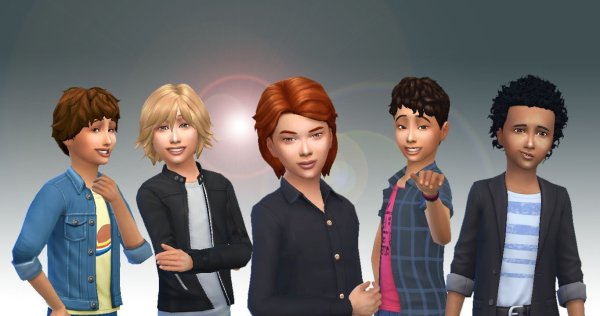 Boys Hair Pack 3