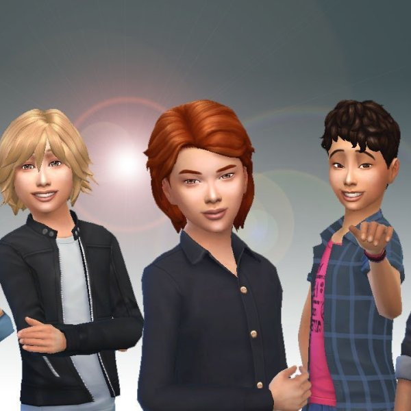 Boys Hair Pack 3