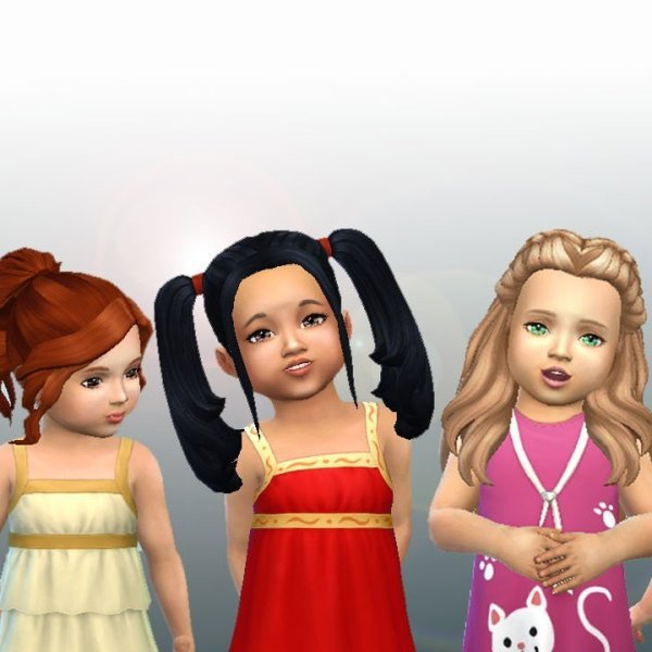 Toddlers Hair Pack 3