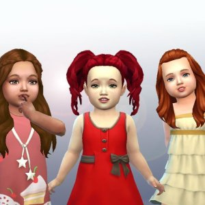 Toddlers Hair Pack 4