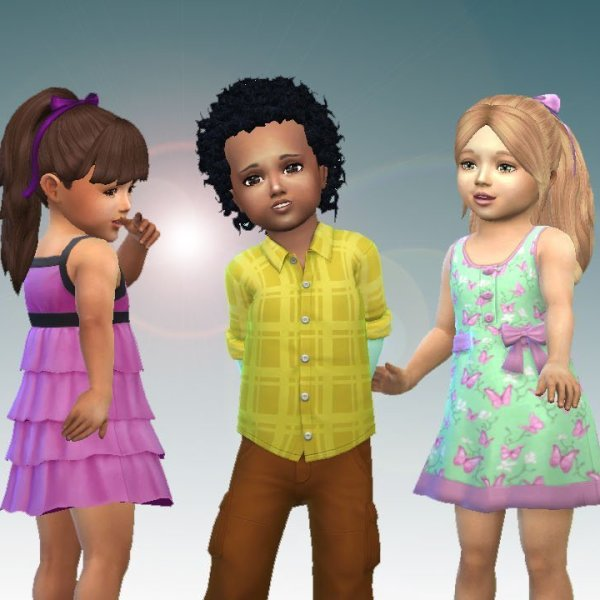 Toddlers Hair Pack 5