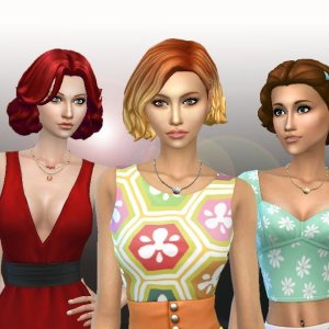 Female Medium Hair Pack 5